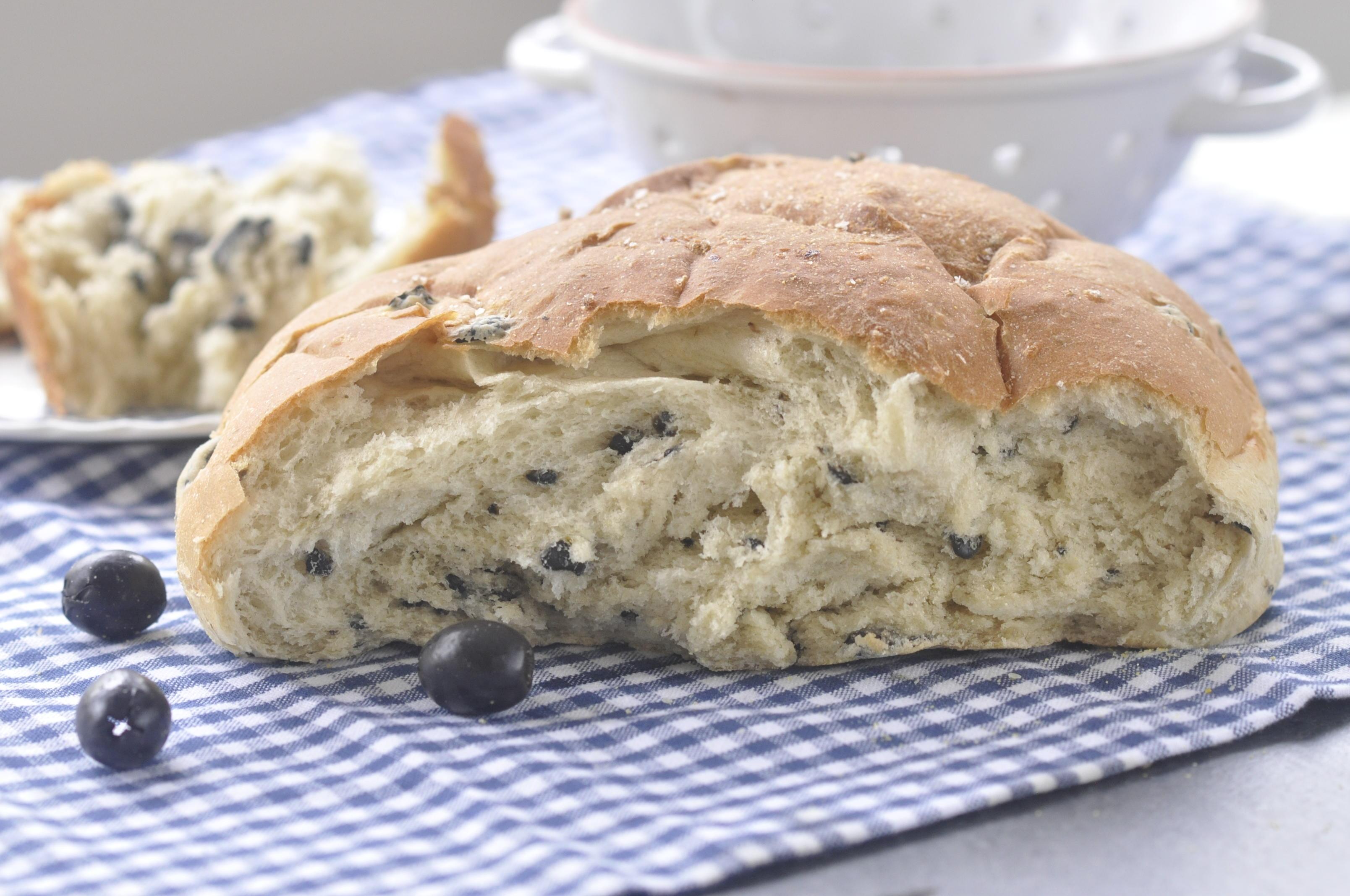 California Ripe Olive Bread